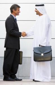 In den arabischen Ländern ist ein Etikette-Code das A und O des Geschäftslebens
